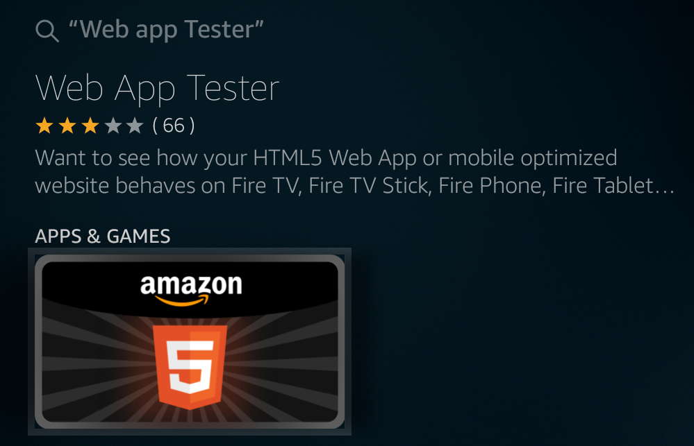 STEP 1: - On your Fire TV device, search or say