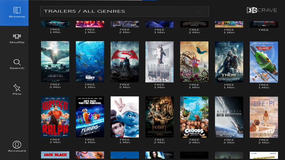 The beta version of our Amazon Fire TV app is HERE! - Featuring:New Interface,Browse Bar, Movie shuffle, Favorite Movies, Account History and a super simple Log-In Menu.