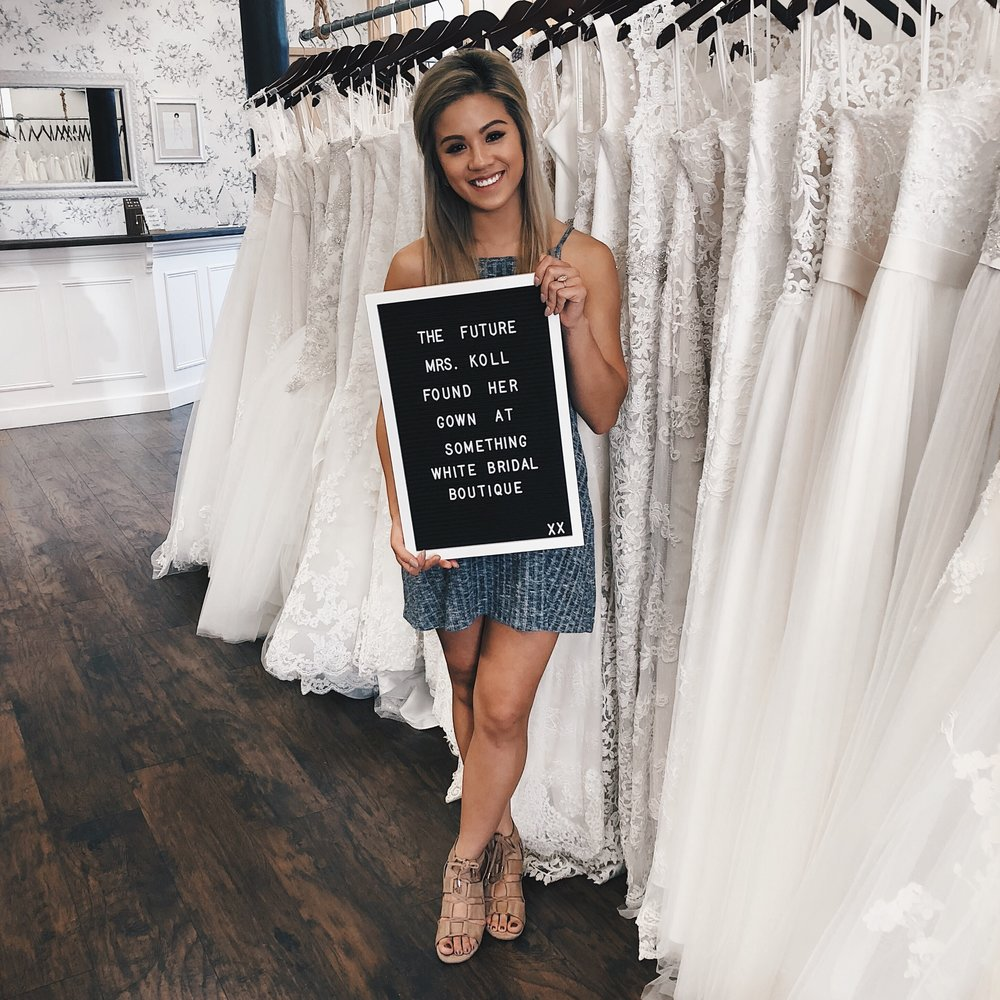 My First And Last Wedding Gown Fitting Huyenatlife
