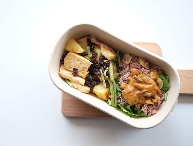 Our July Specials are now available and it includes one of our favourite meals - MULAN! Garlic bok choy brown rice topped with our homemade curry sauce with a side of roasted vegetables and tofu in honey vinegar sauce and optional chicken. Yum! Order now at www.thenakedlunchbox.co