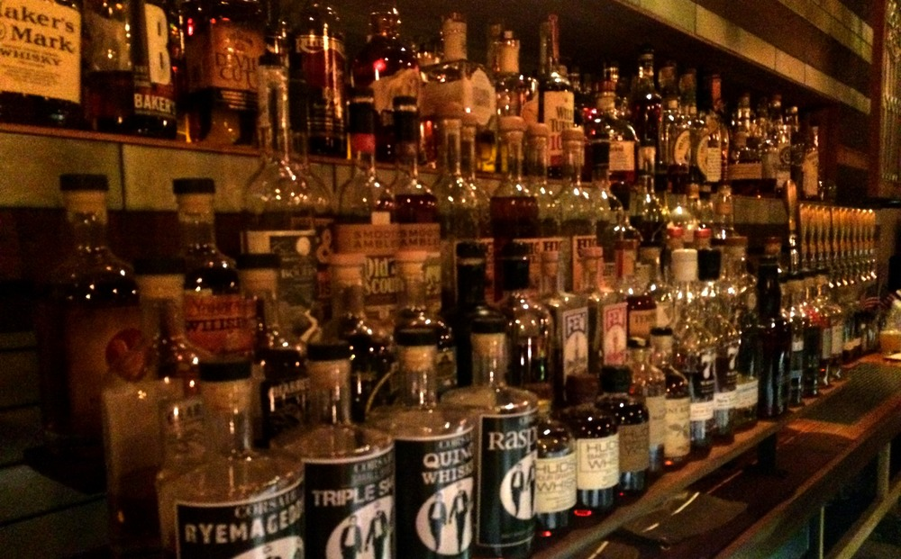 So many whiskeys, so little time.