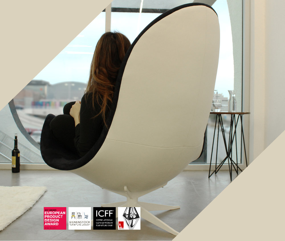 LEIRA Lounge Chair - The significant omission in our life is solitude; not loneliness, for this, is an alienation that thrives most in the midst of crowds, but that zone of time and space free from outside pressure which is the incubator of the spirit.