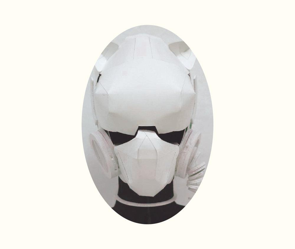 IZANAGI | イザナギSamurai Pilot Helmet - Helmet Design Project