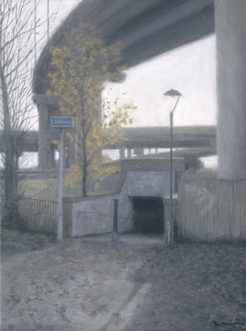 Autumn Subway