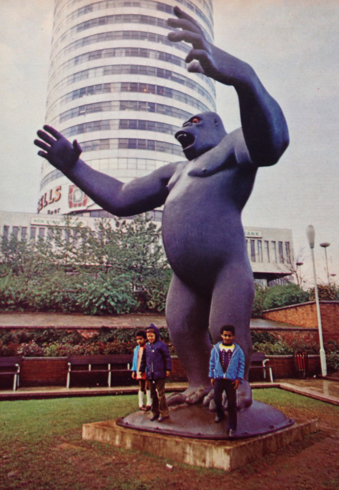 King Kong in Manzoni Gardens (Studio International) 1972