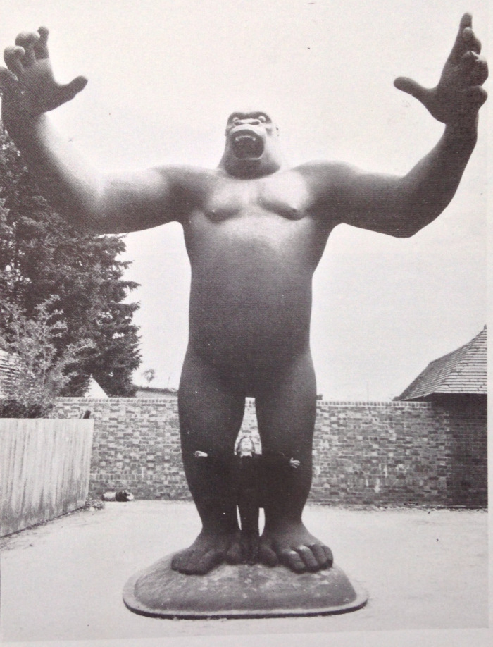 King Kong in Nicholas Munro's studio