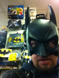 Temper aka Batman a few years later!