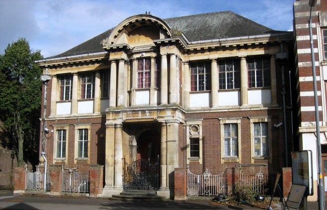 The beautiful Moseley Art School.