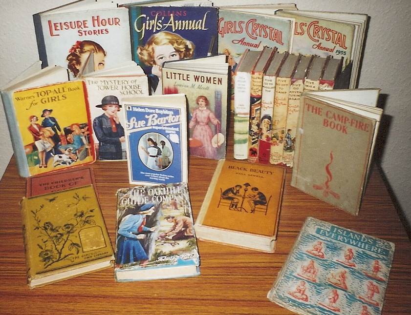 Some of the books Itrene received as Christmas Presents.jpg