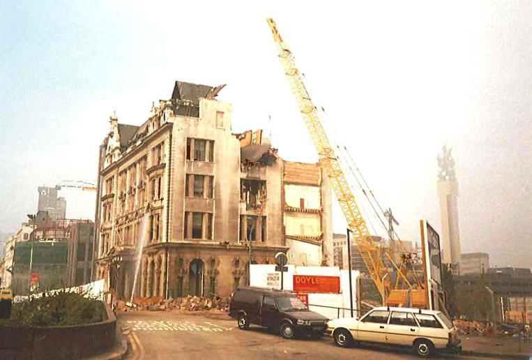 Colmore Circus Constructions   Wesleyan's Chief Office, which has stood on the site at Steelhouse Land and Colmore Circus since 1900 was demolished to make way for the new Wesleyan Head Office that is there today.