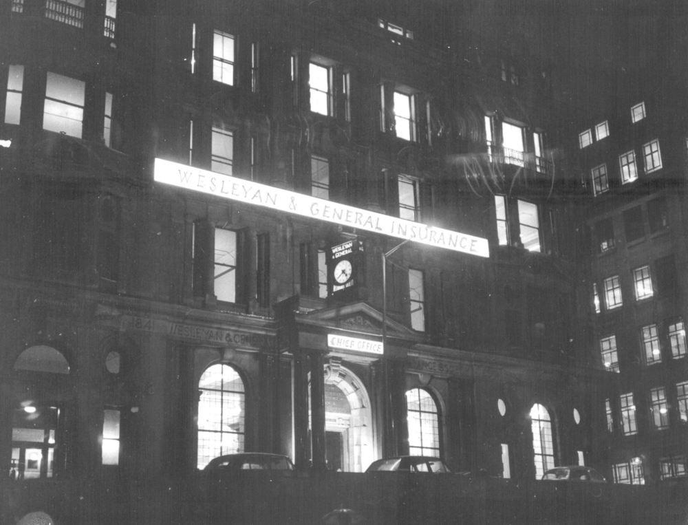 Wesleyan Chief Office 1960s
