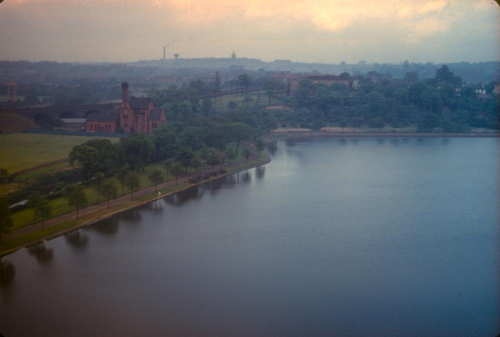 Aston Reservoir, Birmingham. 20th May 1957