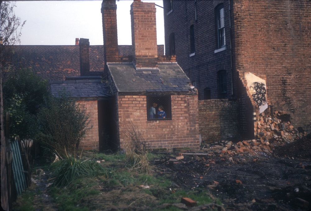 Newtown Aston, Adventure Playground behind Gower St,  Guilford St, view point Furnace Lane. 9th November 1968