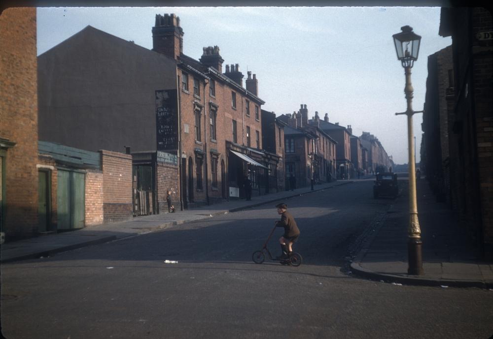 Balsall Heath Angelina Street. 2nd March 1957