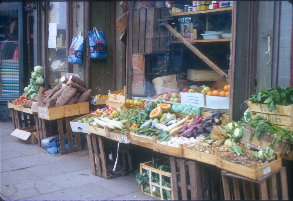 Balsall Heath Longmore Street (Eastside Vegetable Shop near Balsall Heath Road) 25th September 1968 (2)