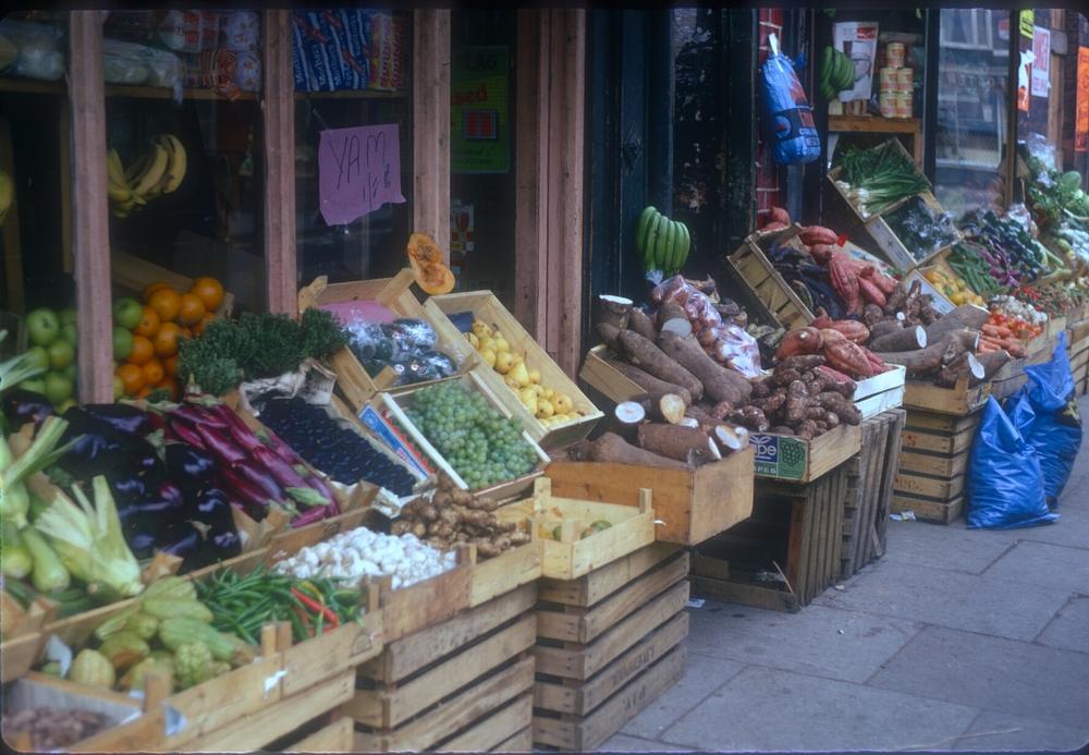 Balsall Heath Longmore Street (Eastside Vegetable Shop near Balsall Heath Road) 25th September 1968