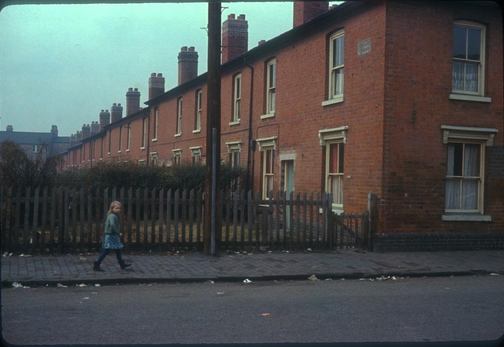 Balsall Heath Mary Street, Pleasant Terrace. 11th February 1967