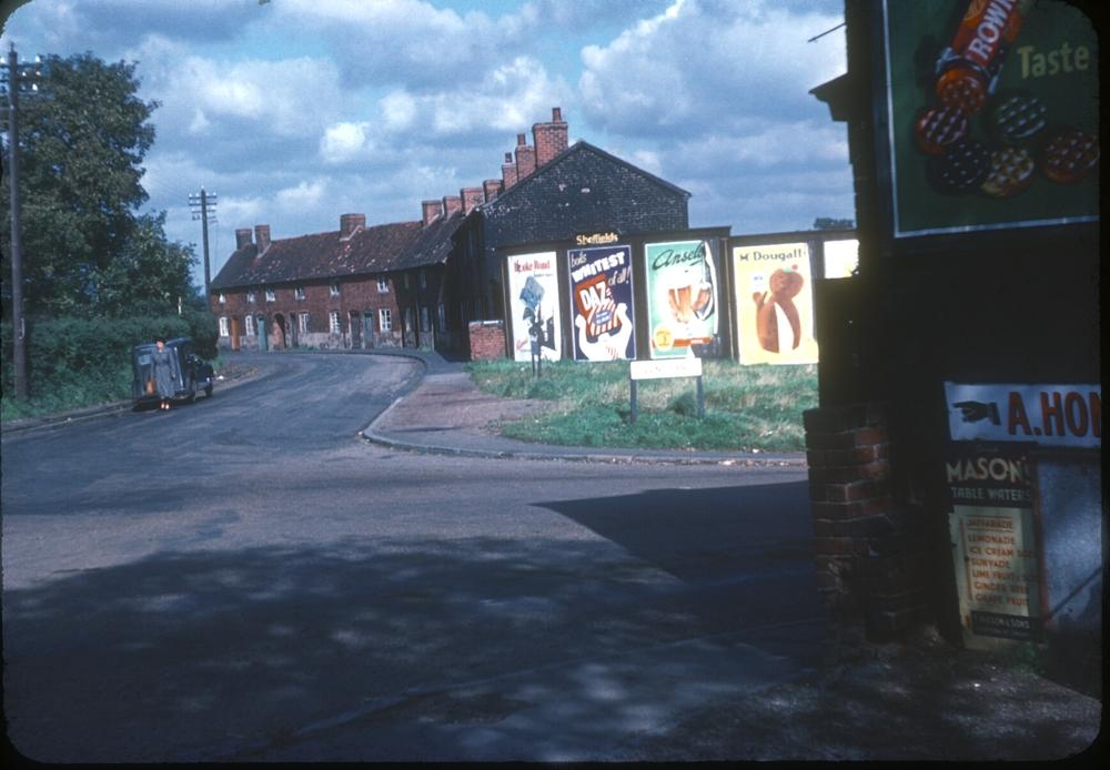 Bartley Green Jiggins Lane (Adams Lane Corner) 28th September 1953