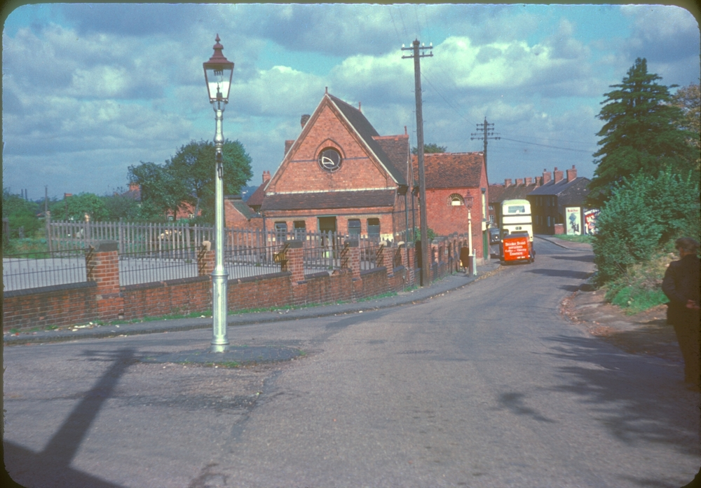 Bartley Green School, Bus Terminus and Village Delivery Van (Genners Lane & Adams Lane) 28th September 1953