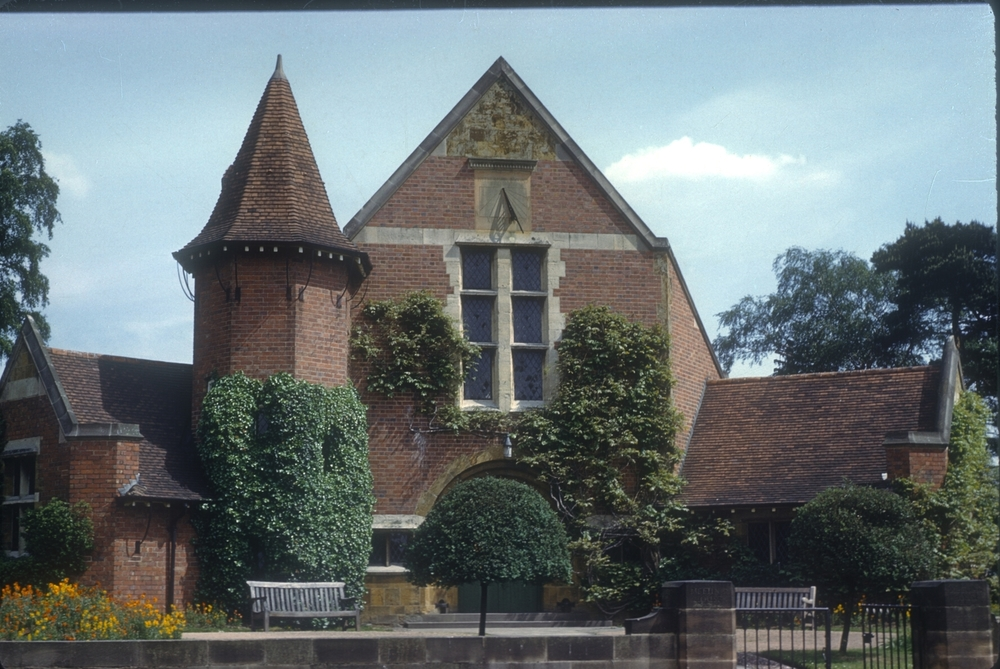 Bournville Friends Meeting House, The Green (built in 1905) 26th May 1960