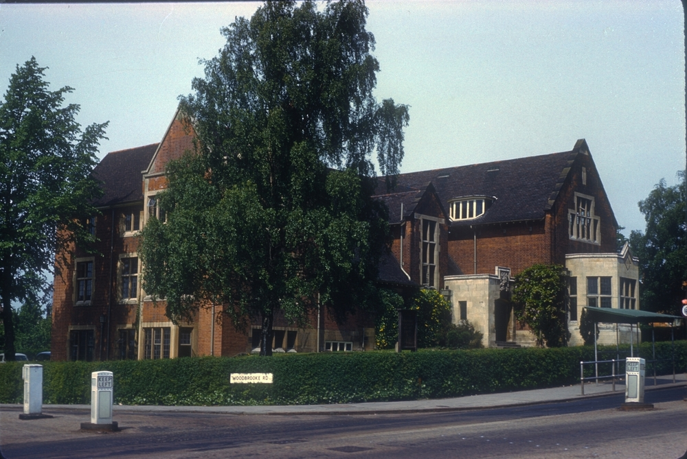 Bournville Ruskin Hall School of Art. 25th May 1960