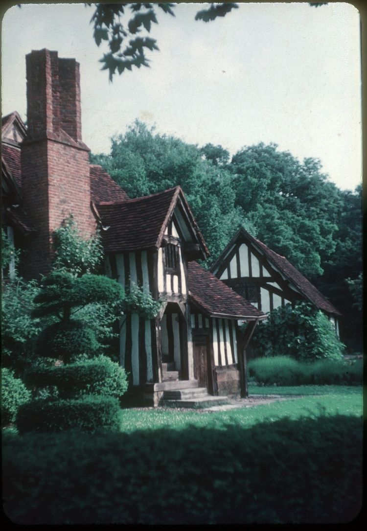 Bournville Selly Manor. 27th June 1953