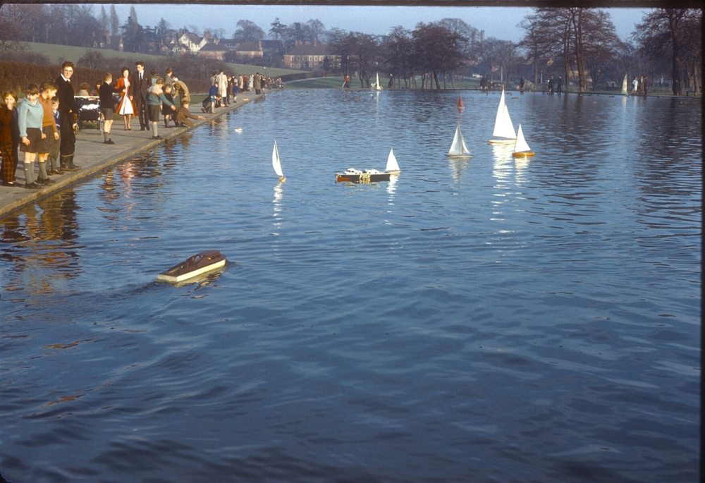 Bournville Woodbrooke Road Park Pool. 19th February 1961 (2)