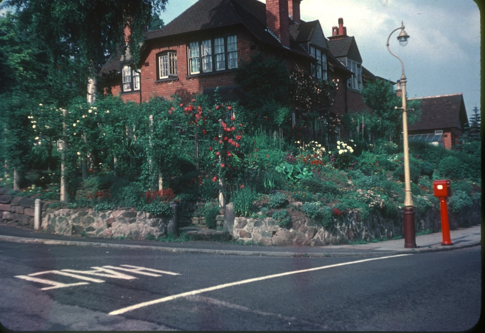 Bournville Woodbrooke Road, Oak Tree Lane. 27th June 1953