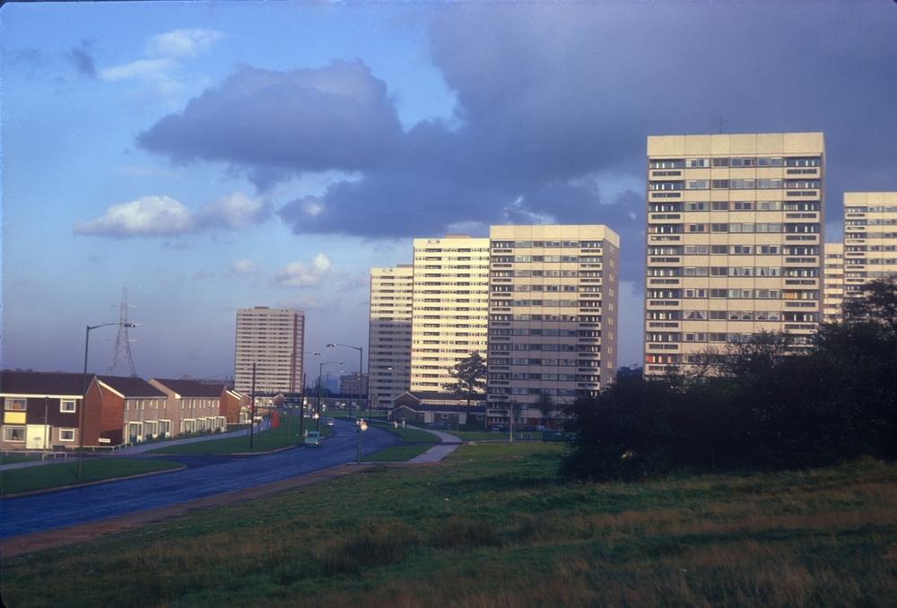 Bromford Bridge Development, Bromford Road near Chipperfield Road. 13th October 1968