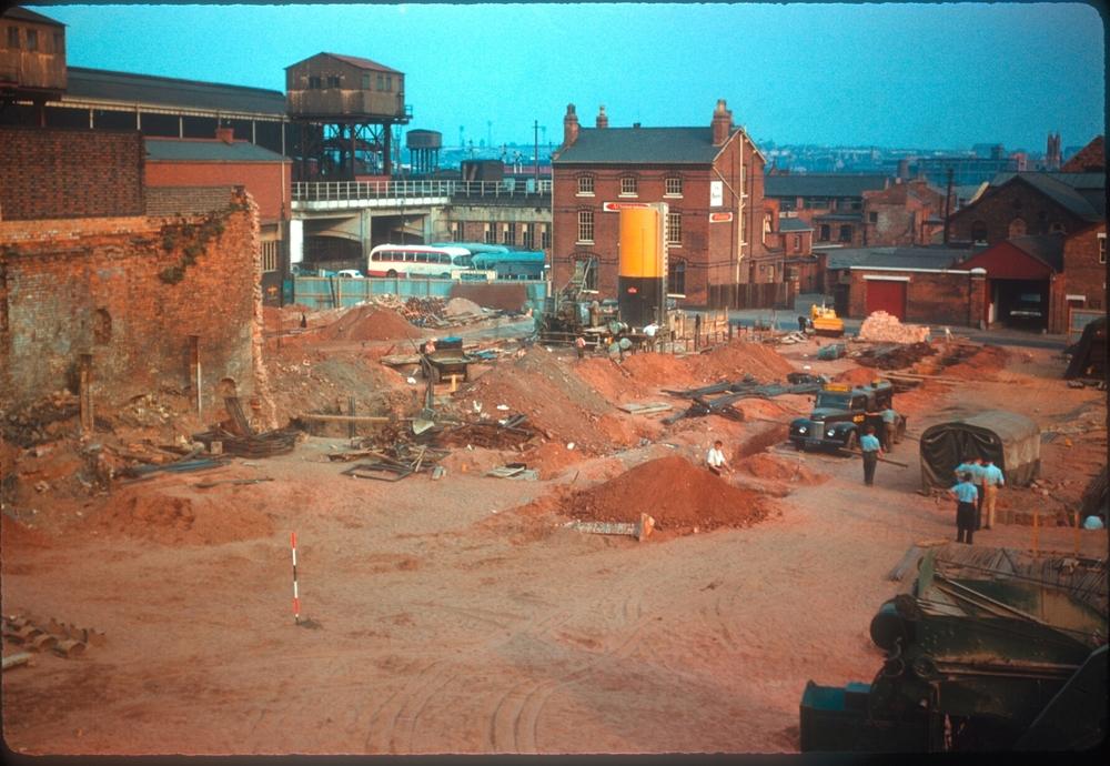 Bull Ring, Moor St, Park St, Inner Ring Rd preparations. 11th September 1959