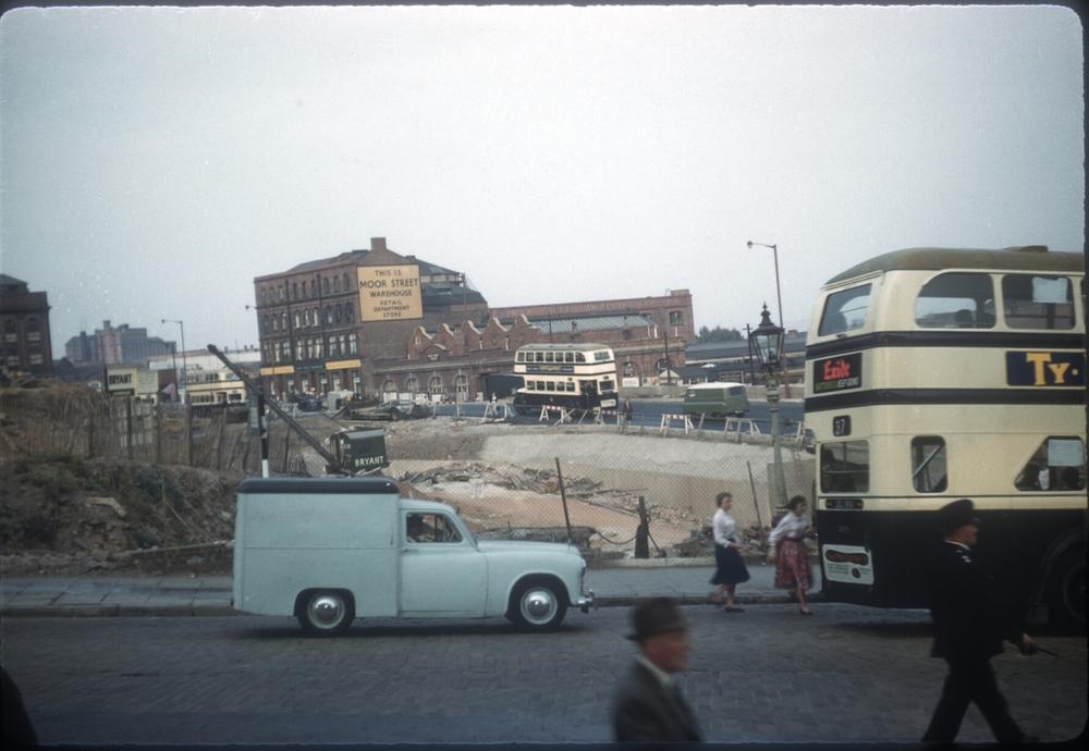 Inner Ring Rd Work. 11th September 1959