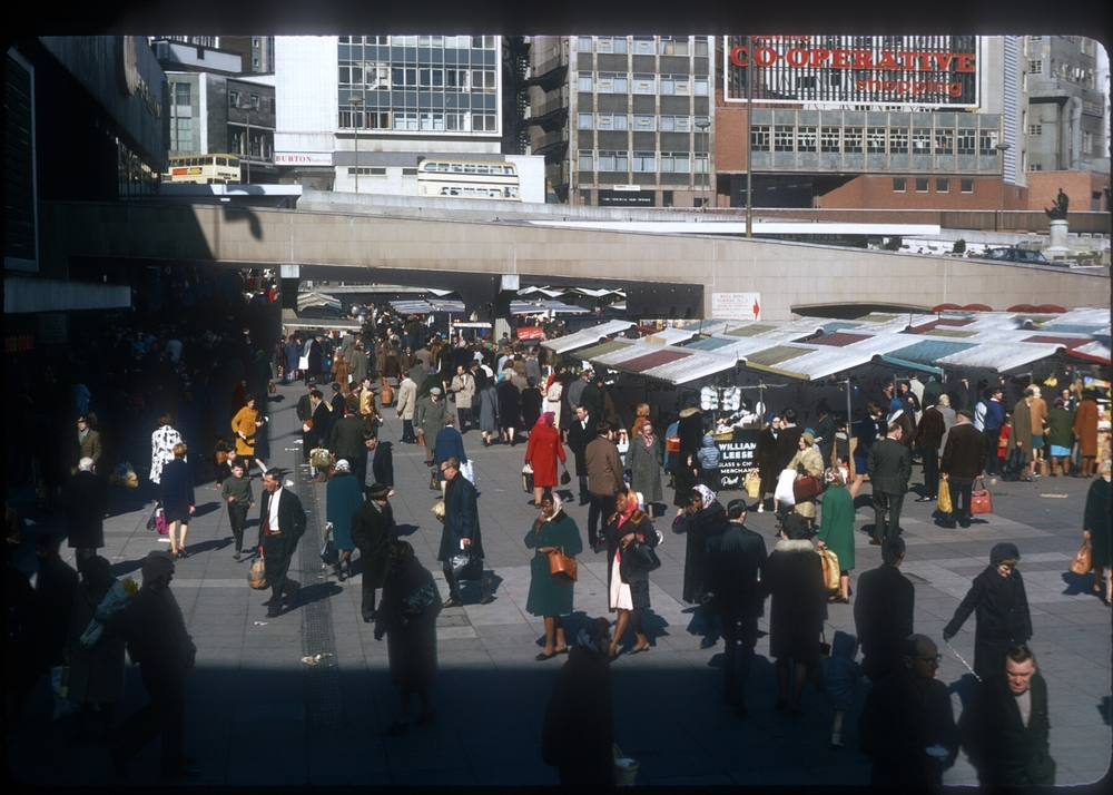 The Bull Ring Market (Saturday) 15th March 1968