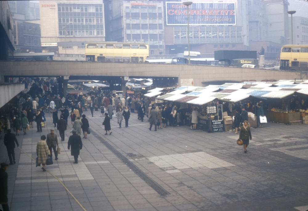 The Bull Ring Market (Thursday afternoon) 28th November 1968