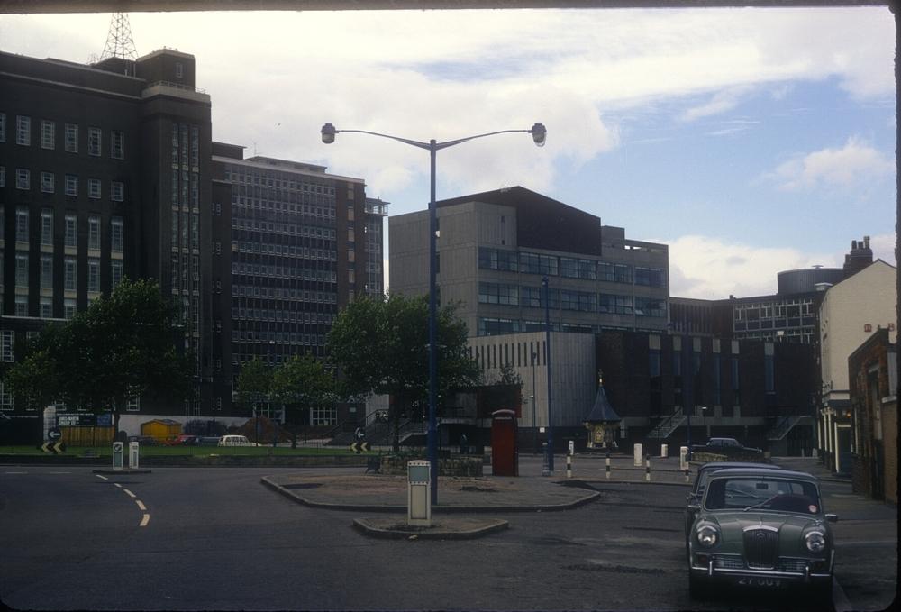 Aston University, Gosta Green. 13th October 1968