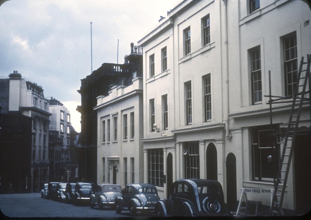 Birmingham Central, Bennetts Hill, Waterloo Street Corner. 30th July 1955