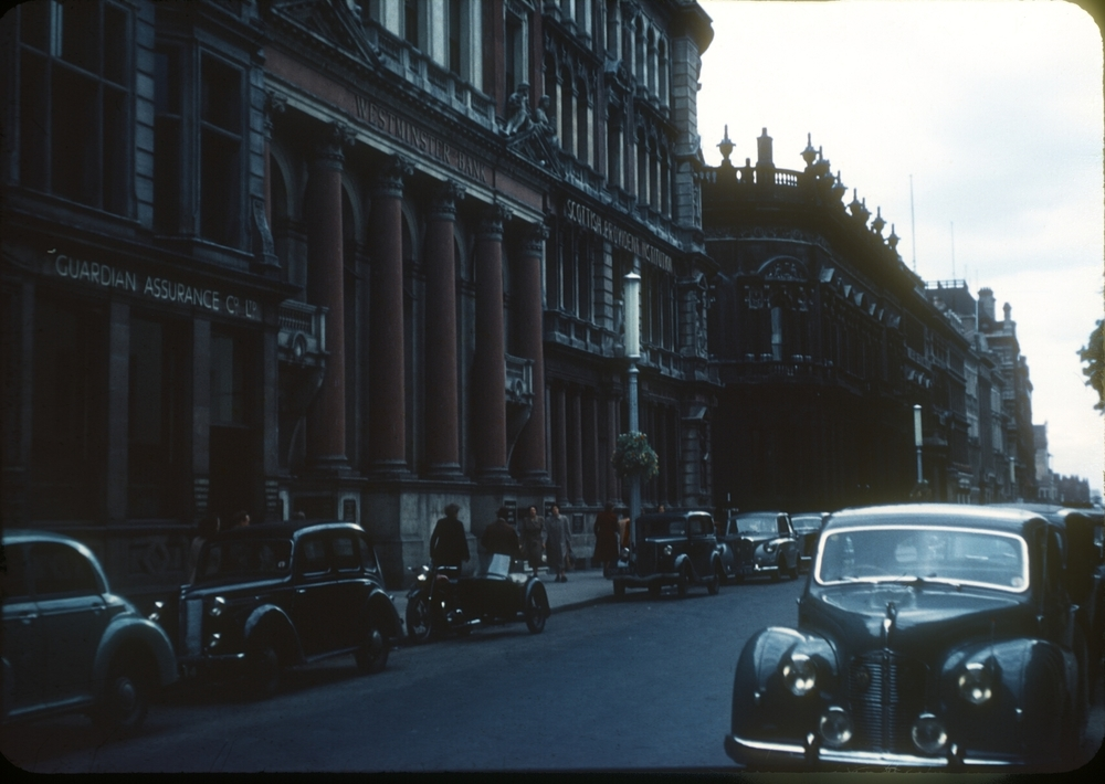 Birmingham Central, Colmore Row. 30th July 1953