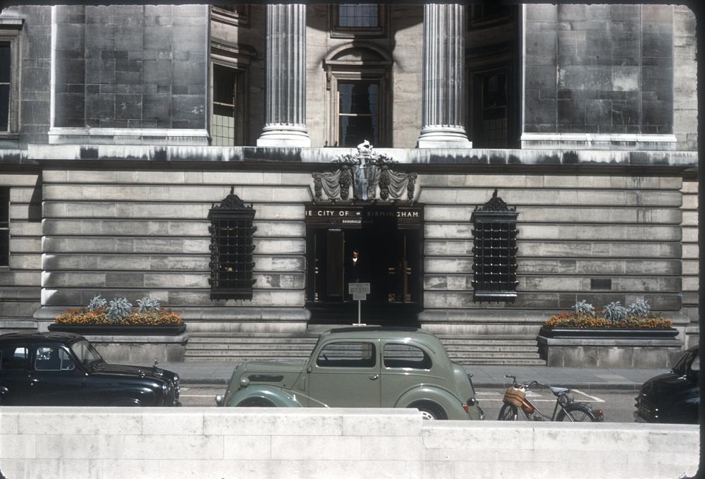 Birmingham Civic Centre, Broad St, Centenary Square. 28th August 1961