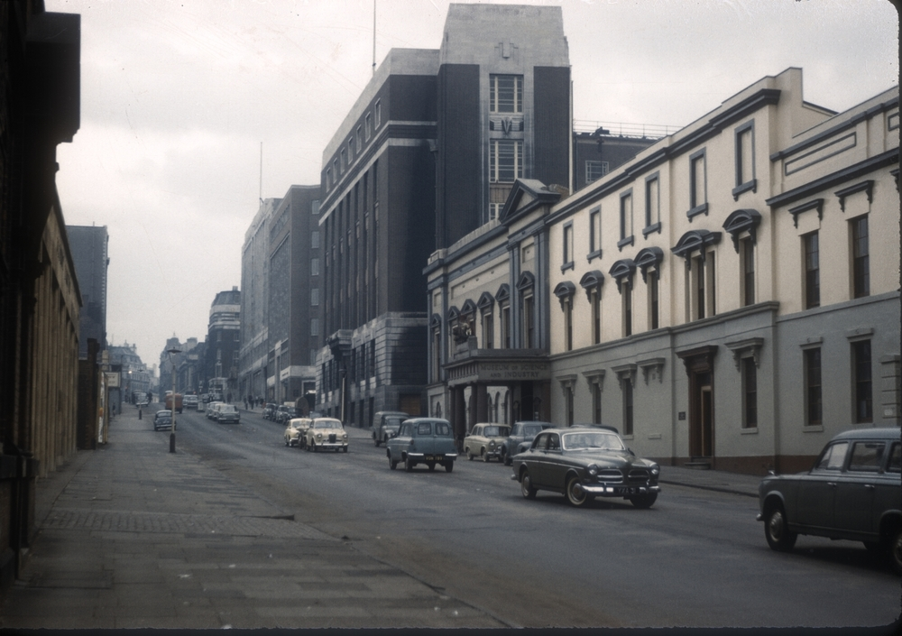 Birmingham Newhall Street, Science Museum (R), Formerly Elkingtons Silver Plate Works. 15th October 1960