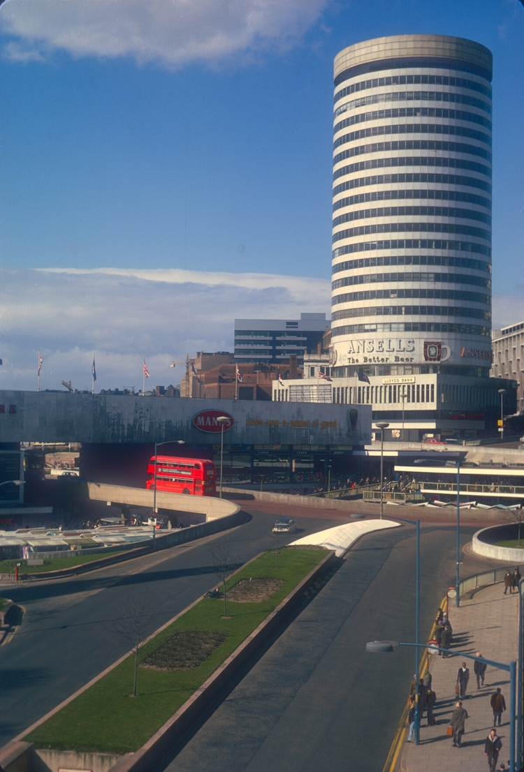 Birmingham Rotunda & Bull Ring. 15th March 1968