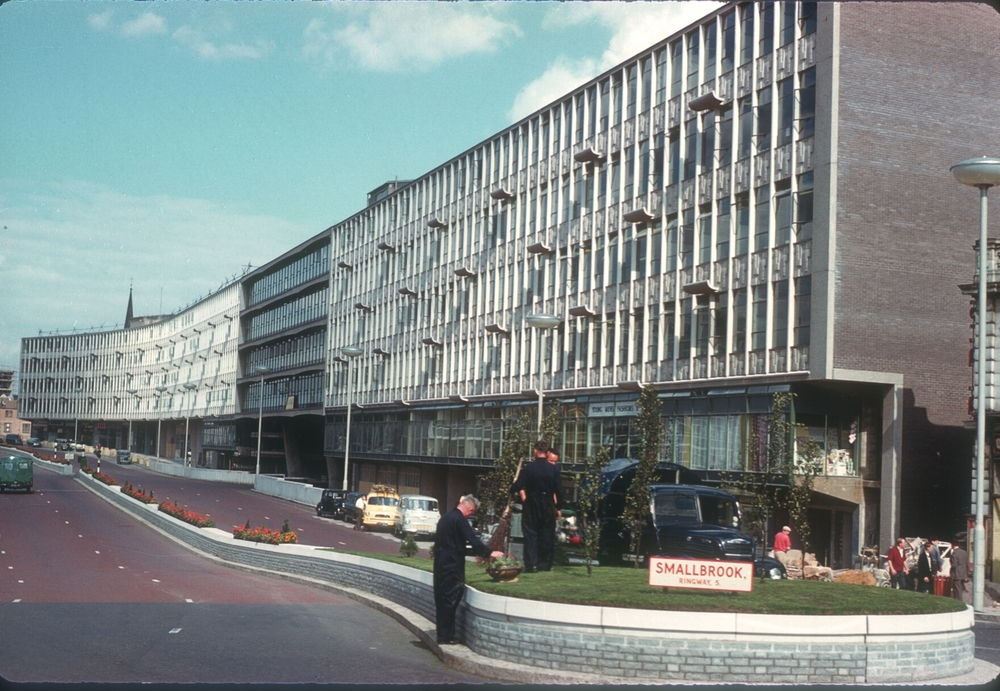 Birmingham Smallbrook Ringway (New Inner Ring Road) 29th July 1960