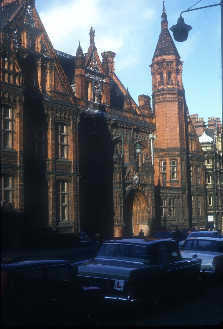 Corporation St Law Courts. Victoria Law Courts Constructed 1887-1891. 5th January 1969