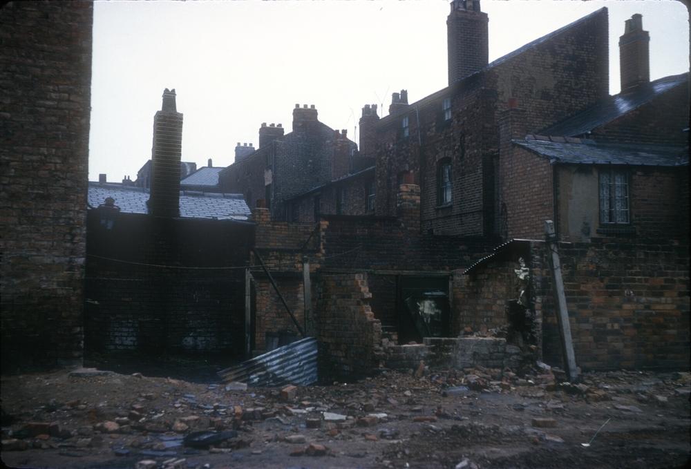Edward St. Back-to-backs & Court. 24th April 1967