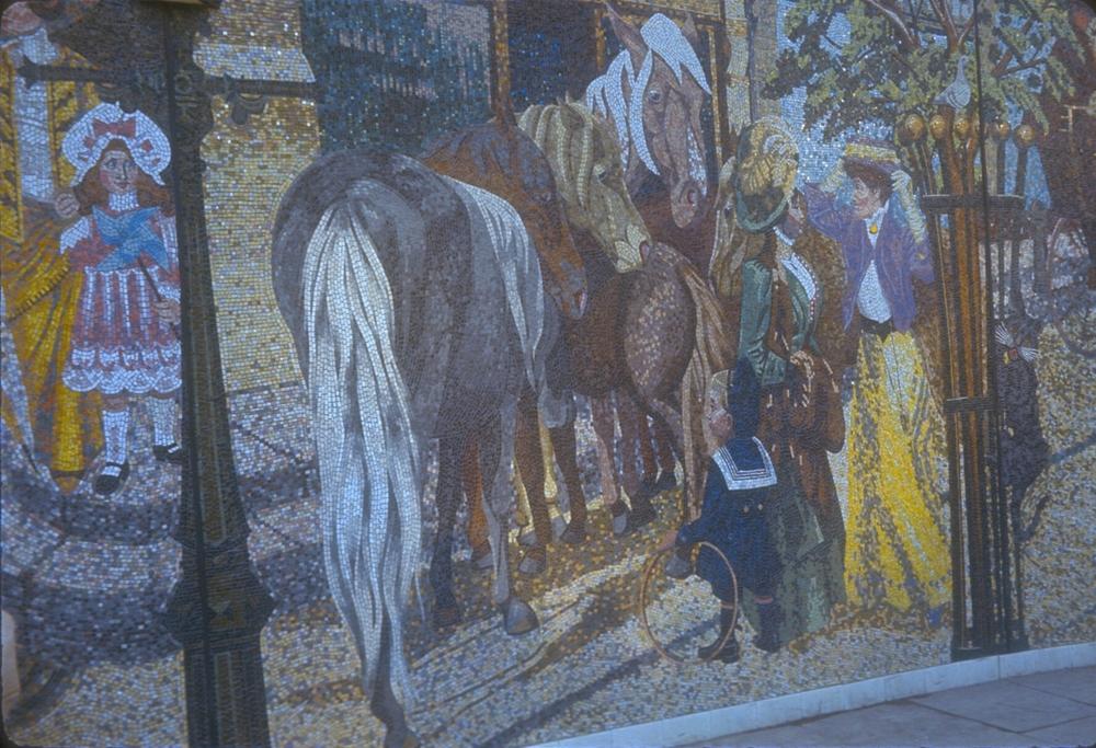Holloway Circus, Horsefair Mosaic. 2nd January 1967
