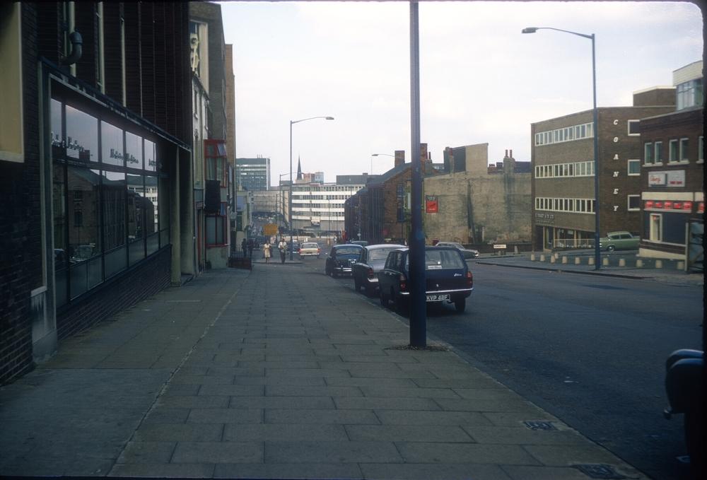 Holloway Head towards Smallbrook Ringway. 29th June 1968