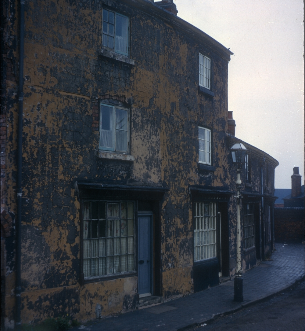 Kingston Row old house c. Early 19th Century. 24th April 1967
