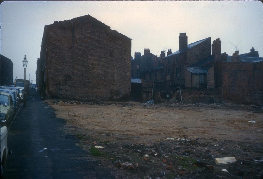 Kingston Row, Edward Street off King Edwards Road. 24th April 1967
