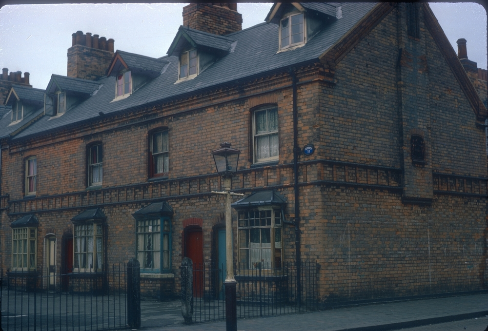 Lawrence Street (Ryder St Area), Early Corporation Housing. 15th January 1968