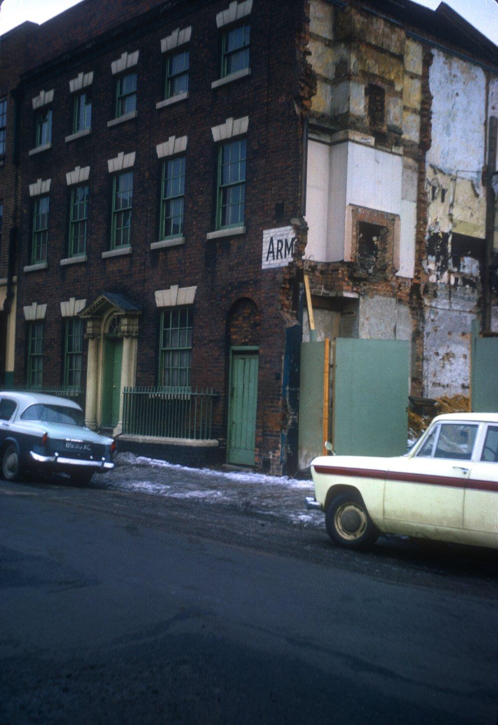 Gun Quarter (In decay). No.16 Whittall Street. 16th February 1963