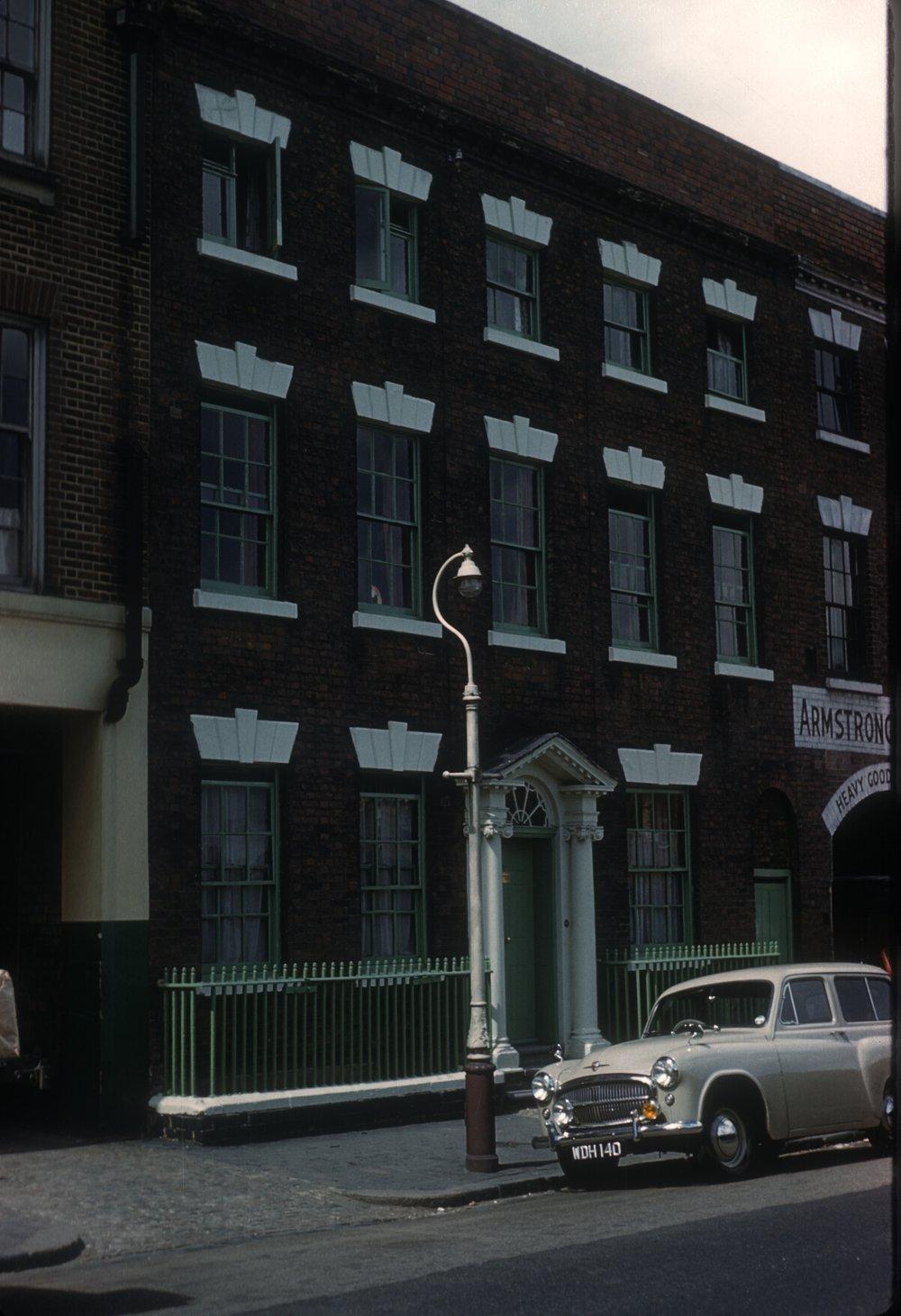 Gun Quarter, 16 Whittall Street. 13th June 1960