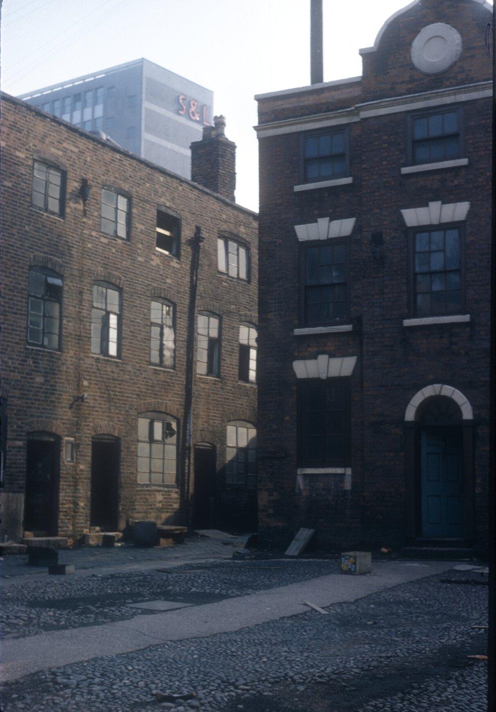 Gun Quarter, Andertons Yard, Whittall Street (Derelict) 6th April 1963